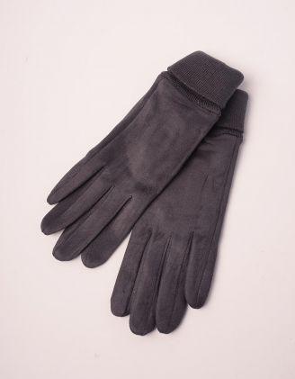 Рукавиці жіночі з манжетом резинкою | 237353-28-09 - A-SHOP