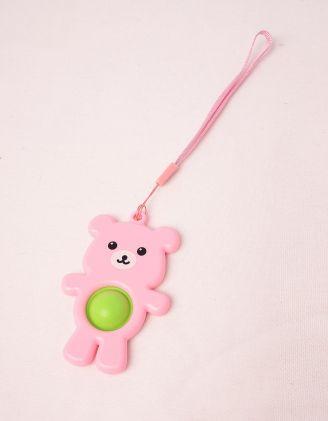 Іграшка антистрес pop it simple dimple у вигляді ведмедика | 249447-14-XX - A-SHOP