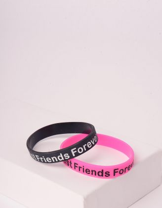 Браслет на руку парний з написом Friends Forever | 244976-21-XX - A-SHOP