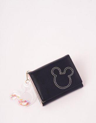 Гаманець портмоне з брелоком у вигляді Міккі Мауса | 244922-02-XX - A-SHOP