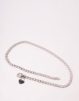 Ремінь на талію із ланцюга з серцем | 244400-05-XX - A-SHOP