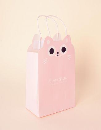 Пакет a shop з принтом кицьки | 237920-14-XX - A-SHOP
