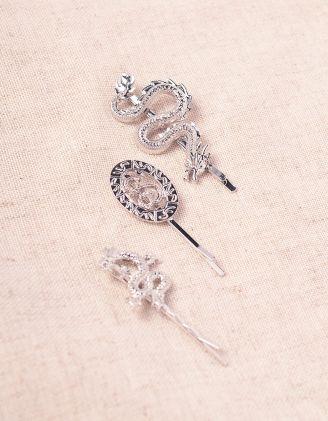 Шпилька для волосся у комплекті з драконами | 245127-05-XX - A-SHOP