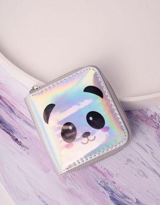 Гаманець з принтом панди | 239227-05-XX - A-SHOP