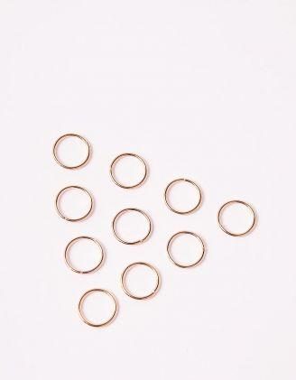 Кільця для волосся у наборі | 248005-04-XX - A-SHOP