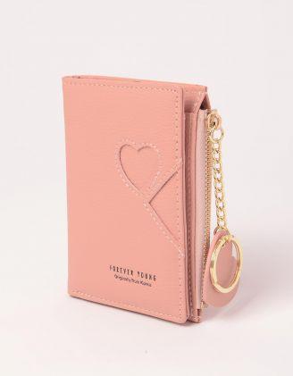 Гаманець портмоне з брелоком у вигляді серця | 248723-14-XX - A-SHOP