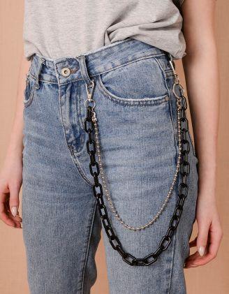 Ланцюжок на одяг подвійний | 240107-07-XX - A-SHOP