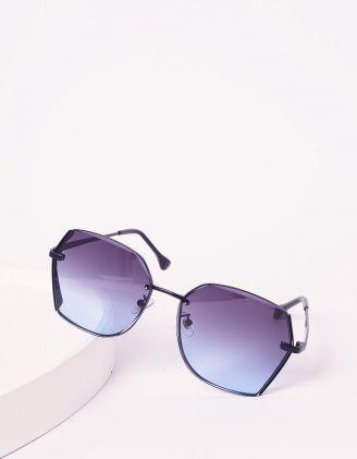 Окуляри сонцезахисні з тонкими дужками | 239618-30-XX - A-SHOP