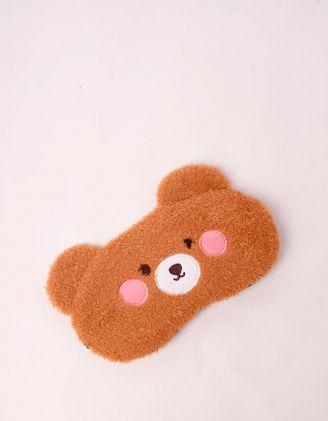 Маска для сну у вигляді ведмедика | 246398-12-XX - A-SHOP