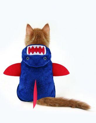 Одяг для котика у вигладі акули | 248582-30-03 - A-SHOP