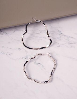 Сережки кільця фігурні   240168-05-XX - A-SHOP