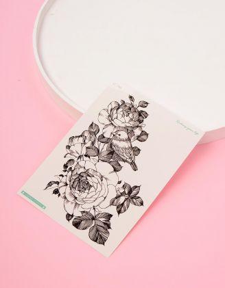 Татуювання тимчасове з малюнком квітів | 233788-02-XX - A-SHOP