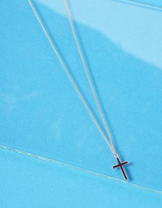 Підвіска з хрестиком | 236859-04-XX - A-SHOP