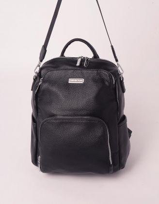Рюкзак трансформер на блискавці з кишенею | 249846-02-XX - A-SHOP