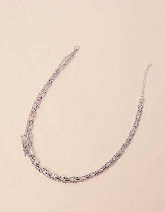 Підвіска на шию із ланцюжків з написом | 240414-05-XX - A-SHOP
