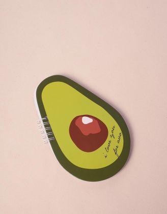 Блокнот у вигляді авокадо   240272-20-XX - A-SHOP