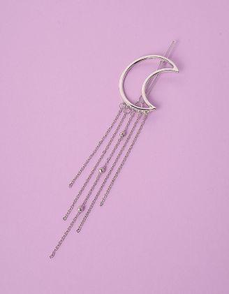 Шпилька для волосся з напівмісяцем та ланцюжками | 245929-05-XX - A-SHOP