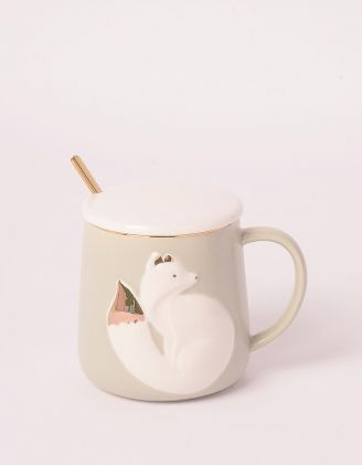 Чашка на 320мл із зображенням лисички | 247162-11-XX - A-SHOP