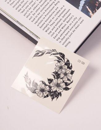 Тату на тіло тимчасове із зображенням квітів | 239060-02-XX - A-SHOP