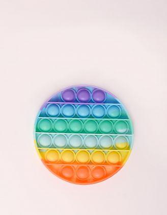 Іграшка антистрес сквіш pop it у формі кола | 248519-21-XX - A-SHOP