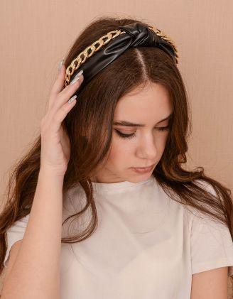 Обідок для волосся з ланцюгом | 239414-02-XX - A-SHOP