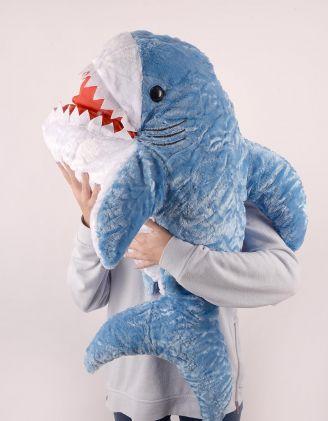 Іграшка м'яка у вигляді акули | 248596-13-XX - A-SHOP