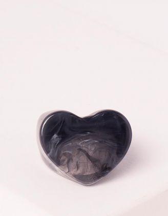 Кільце у формі серця | 248007-02-40 - A-SHOP