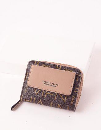 Гаманець портмоне з кишенею | 246036-22-XX - A-SHOP