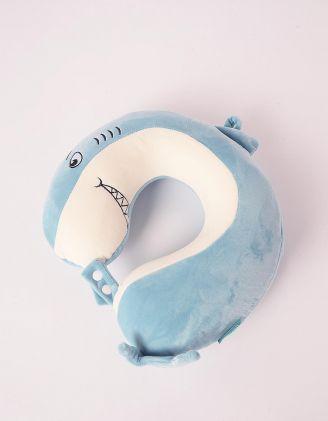 Подушка під шию для подорожей у вигляді акули | 247329-18-XX - A-SHOP