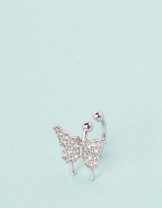 Кафа з метеликом у стразах | 245693-06-XX - A-SHOP