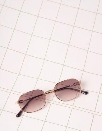 Окуляри від сонця вузькі з тонкими дужками | 245461-12-XX - A-SHOP