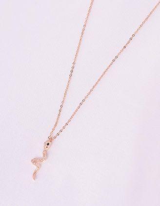 Підвіска на шию з кулоном у вигляді змії   243049-08-XX - A-SHOP