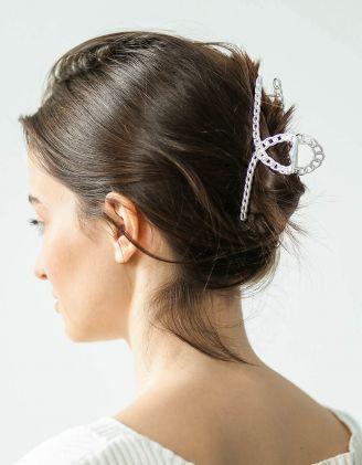 Шпилька для волосся крабік із ланцюжків | 244459-05-XX - A-SHOP