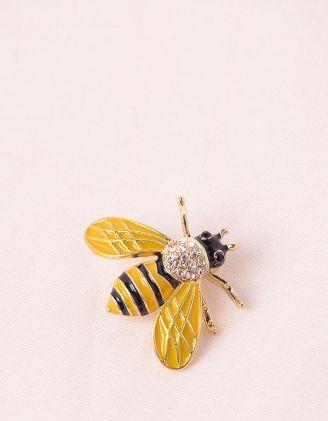 Брошка у вигляді бджілки | 246516-19-XX - A-SHOP