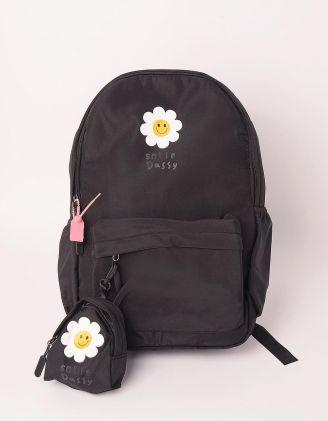 Рюкзак для міста з ромашками | 248984-02-XX - A-SHOP