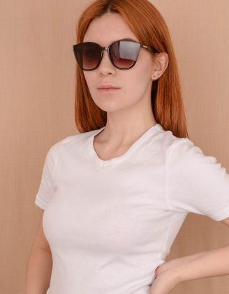 Окуляри сонцезахисні лисички | 240030-12-XX - A-SHOP