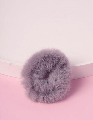 Резинка для волосся хутряна | 239244-11-XX - A-SHOP