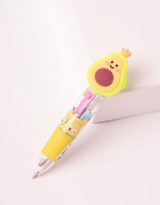Ручка багатокольорова з авокадо | 250047-19-XX - A-SHOP