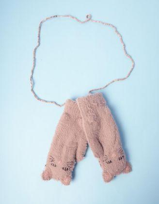 Рукавиці у вигляді кішки на мотузці | 235296-39-XX