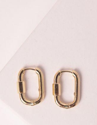 Сережки у вигляді карабіну | 247363-04-XX - A-SHOP