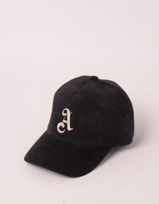 Бейсболка з вишивкою з вишитою літерою | 250461-02-XX - A-SHOP