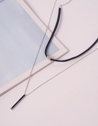 Підвіска чокер з кулоном | 240198-06-XX - A-SHOP
