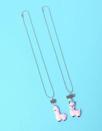 Підвіска парна з кулонами у вигляді альпака | 235136-14-XX - A-SHOP