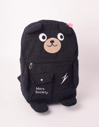 Рюкзак молодіжний із зображенням ведмедика | 248987-02-XX - A-SHOP