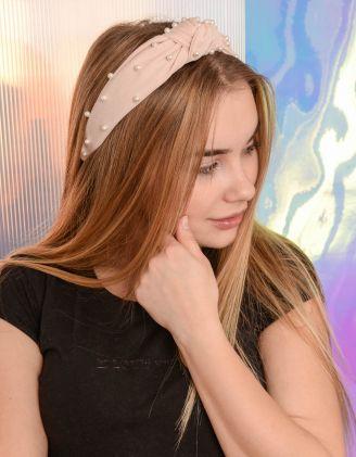 Обідок для волосся з перлинами | 239415-22-XX - A-SHOP
