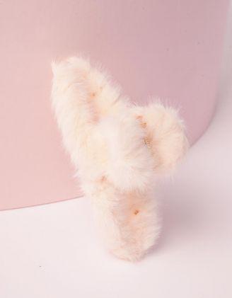 Шпилька для волосся крабік хутряна | 246549-01-XX - A-SHOP