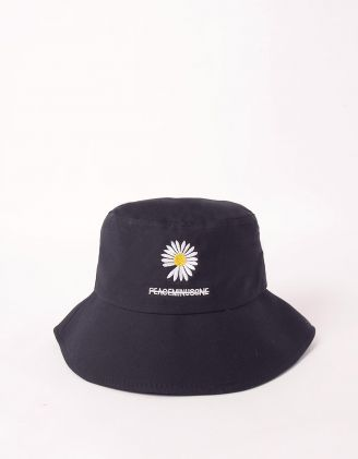 Панама з вишитою ромашкою | 245741-02-XX - A-SHOP