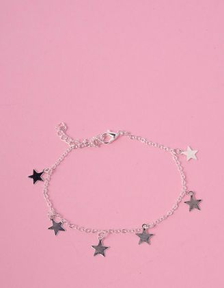 Браслет на ногу со звездами | 231558-05-XX - A-SHOP