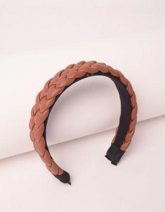 Обідок для волосся плетений | 248733-12-XX - A-SHOP