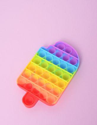 Іграшка антистрес pop it у формі морозива | 248578-21-XX - A-SHOP